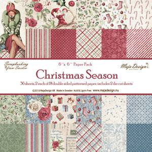 Bilde av Maja Design - 1006 - Paper Pad 6x6 - Christmas Season