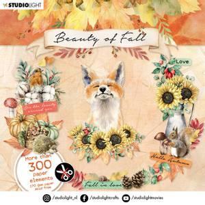 Bilde av Studiolight -   09 - Die Cut Book - Beauty of Fall - Fall elemen