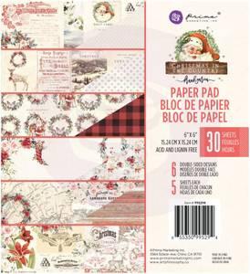 Bilde av Prima - 995294 - 6x6 Paper Pad - Christmas In The Country