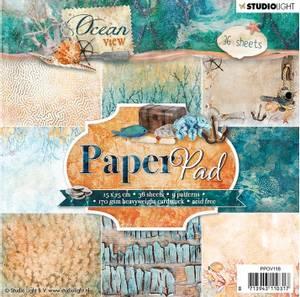 Bilde av Studiolight -  118 - PaperPad 15x15cm - PPOV118 - Ocean View