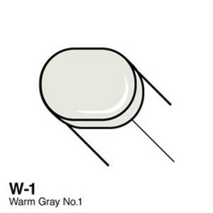 Bilde av Copic - Sketch Marker - W1 - WARM GRAY NO.1