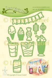 Bilde av Leane Creatief - 45.6531 - Lea'bilities Die - Party & Snacks