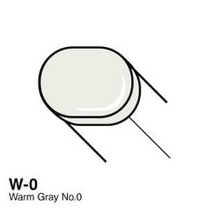 Bilde av Copic - Sketch Marker - W0 - WARM GRAY NO.0
