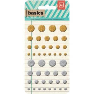 Bilde av Basic Gray - BASICS CANDY BUTTONS EPOXY - METALLICS