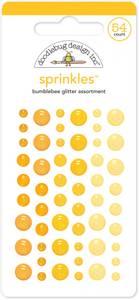 Bilde av Doodlebug - 4537 - Sprinkles - Glitter dots - Bumblebee