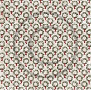 Bilde av Papirdesign PD18497 - Hjem til jul - Julekrans