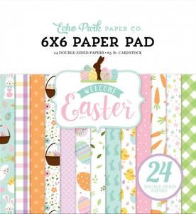 Bilde av Echo Park - Welcome Easter - 6x6 Paper Pad