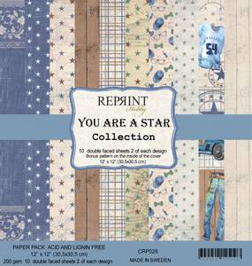 Bilde av Reprint - 12x12 - CRP028 - You are a Star Collection pack