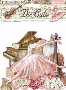 Bilde av Stamperia - Chipboard Die Cuts - 31 - Passion