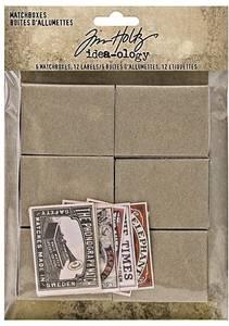 Bilde av Tim Holtz - Idea-ology - TH94050 - Matchboxes