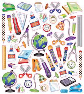 Bilde av Creotime - Stickers - 28872 - Skriveredskaper