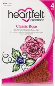 Bilde av Heartfelt Creations - Classic Rose - Cling Rubber Stamp Set
