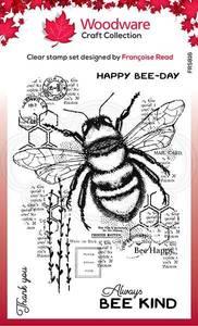 Bilde av Woodware - FRS816 - Clear stamp - Bee Kind