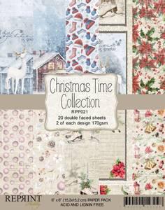 Bilde av Reprint - 6x6 - RPP021 - Christmas Time Collection