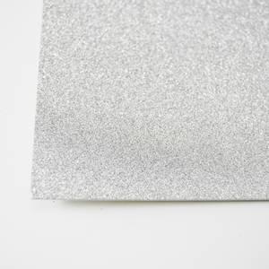 Bilde av Kort & Godt - Glitterkartong - GP202 - Sølv