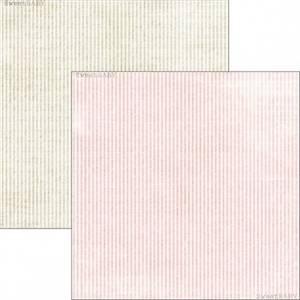 Bilde av Reprint - 12x12 - RP0299 - Sweet Baby - Pink Stripes