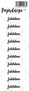 Bilde av Papirdesign - Transparent Stickers - 1900177 - Julehilsen 2