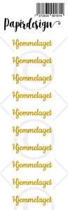 Bilde av Papirdesign - Transparent Stickers - 1900181 - Hjemmelaget, gull