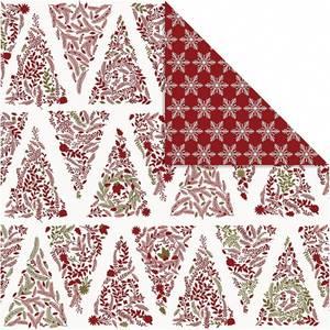 Bilde av Vivi Gade - Designpapir - Juletrær & Stjerner - 3 stk ark