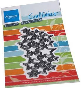 Bilde av Marianne Design - Craftables dies - CR1559 - Art Texture Stars