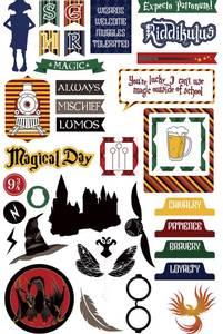 Bilde av Colorplay - Cardstock Ephemera - Wizard World