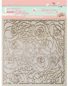 Bilde av Stamperia - Chipboard Decorative Chips - 35 - Texture of Roses