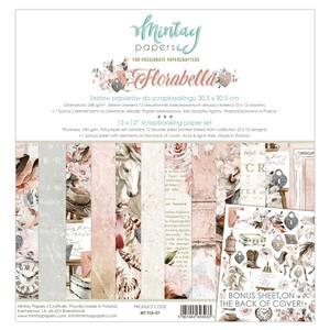 Bilde av Mintay - FLB - 12x12 Paper Set - Florabella